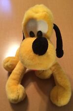 "Old Disneyland Pluto Plush 11"""