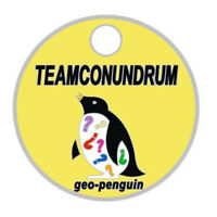 Pathtag #7677 Geo-Penguin Teamconundrum Geocoin Alt Pathtags Florida Geocaching