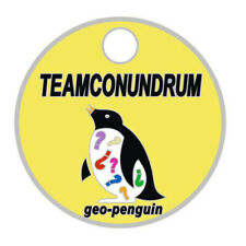 Pathtag #7677 Geo-Penguin Teamconundrum Geocoin Alt Pathtags Florida Geocaching