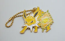 "Pokemon Ichiban Kuji Jolteon gem 2"" metal keychain charm figure toy Japan"