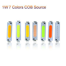 7 Color COB Strip LED Source 1W DC12V Light Moudule Flip Chip Bar Lamp DIY Car