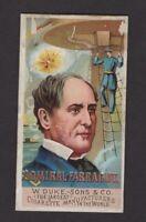 1888 W. Duke Sons & Co. Great Americans N76 Admiral Farragut
