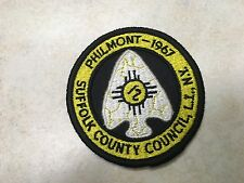 1967 Suffolk County Council Philmont Contingent Patch