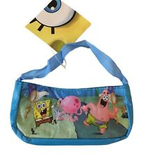 Spongebob and Patrick Woven Costume Purse Pencil Holder With Handle NWT