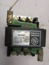 GENERAL ELECTRIC CR205D0 SIZE 2 25HP STARTER