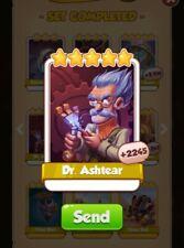 coin master cards Dr Ashtear 1X