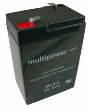 Akku Bleigel Peg Perego Elektroauto 6V 5Ah Multipower MP5-6
