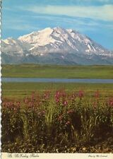 Breathtaking View Of Denali - Mount McKinley Alaska - 1968 Vintage Postcard