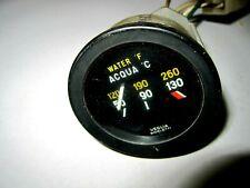 FIAT 850 SPIDER 124 SPIDER WATER TEMP GAUGE 1970-73 USED
