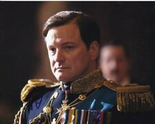 Colin Firth Signed Autographed 8x10 The King's Speech King George VI Photograph