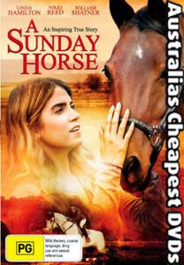 A Sunday Horse DVD NEW, FREE POSTAGE WITHIN AUSTRALIA REGION 4