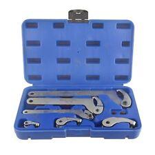 Crochet réglable 35-120mm et clé à ergots 6pcs