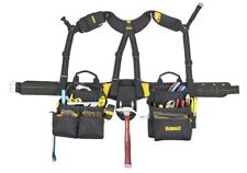 NEW DEWALT 20-Pocket Combo Apron and Yoke Style Suspenders DG5617 New 4414074