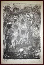 Goerg Edouard Lithographie signée numérotée
