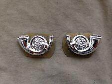 Original British Army Kings Own Yorkshire Light Infantry KOYLI Staybrite Collars