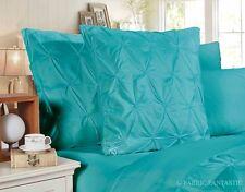 Pair of PINCH PLEAT European Pillowcases / Cushion Covers