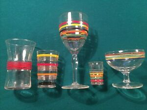 Assorted Lot Vintage Depression Glass Anchor Hocking Ring Ding Fiesta & More FUN
