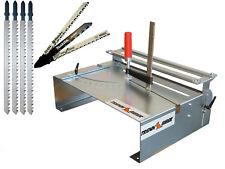 Stichsägetisch 014H + Bosch Festool u. 4 lange Holz Sägeblätter statt Kappsäge
