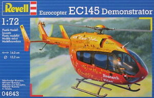 1:72 Revell Eurocopter EC145 Demonstrator