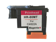 HP 80 Magenta Printhead & Cleaner C4822A HP Designjet Printers 1050c Plus 1055cm