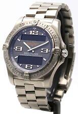 °• Breitling Aerospace E79362 Titanium Super Quartz 2007 Gents Wrist Watch •°