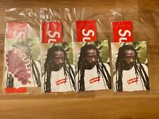 Authentic Supreme Buju Banton SS19 Sticker Pack