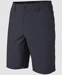 $124 O'Neill 33W Men's Gray Trunks Swim Swimwear Beach Board Shorts *DAMAGED*