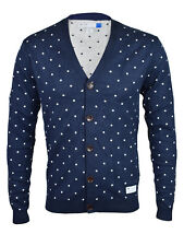 Adidas Originals Mens Navy Blue Cardigan Pullover F50177 RRP £65!