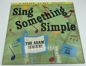 The Adam Singers - Sing Something Simple Record Vinyl Pye Golden Guinea GGL 0150