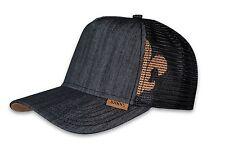 Djinns HFT Linen 2014 Trucker Baseball Cap schwarz Black