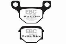 FIT EASYRIDER  JC 125/8 Dragon 98 EBC FRONT ORGANIC BRAKE PADS