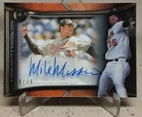 2020 Topps Tribute Franchise Best MIKE MUSSINA Shadowbox Auto /25