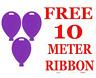5 - 100 Silver en Gros Balloon Shape Poids pour à L'Hélium Toute Occasion