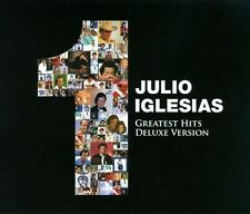 NEW Julio Iglesias 1 Greatest Hits Deluxe Version 2 CD + 1 DVD Live at Greek