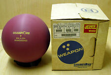 = 16#(16.00) NOS NIB Champions ULTIMATE WEAPON WINE Bowling Ball TW 2.72