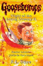 Night of the Living Dummy II (Goosebumps), R.L. Stine | Paperback Book | Accepta