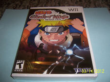 Naruto: Clash of Ninja Revolution  (Wii, 2007) new