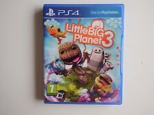 Little Big Planet 3 on PS4 in MINT Condition