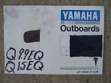 1991 Yamaha 9.9Q 9.9EQ 15Q 15EQ Outboard Motor Owner Manual MORE IN OUR STORE  S