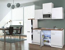Cucina Singola Cucinino Mini Incasso Blocco 180 cm Bianco Respekta