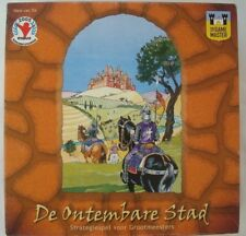 De Ontembare Stad Strategy Board Game Hans van Tol by The Game Master 2003