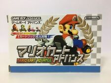 Nintendo Game Boy Advance Mario Kart Japan JP GBA z3011