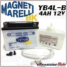 BATTERIA MAGNETI MARELLI YB4L-B APRILIA 50 SCARABEO 2T DT ANNO 1999