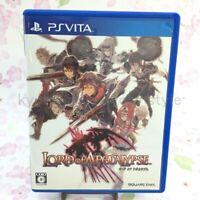 USED PS Vita Lord of Apocalypse PSV 07184 JAPAN IMPORT