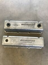 Ford Motor Sport SVO 429 460 Big Block V8 Aluminum Valve Covers!