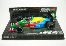 F1 1/43 Benetton B188 Ford Hakkinen First Test 1990 Minichamps