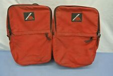 CANNONDALE BICYCLE SADDLE BAGS RED SET OF 2