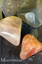 MOONSTONE - also known as a Fertility Stone  Plus our A to Z book of Stones
