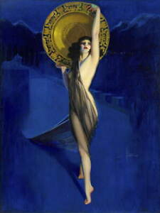 Rolf Armstrong The Enchantress Giclee Paper Print Poster Reproduction