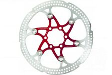 180mm 7 inch Floating Disc Brake Rotor, Stainless, Fits 6 Bolt IS Hub, 8 Colours
